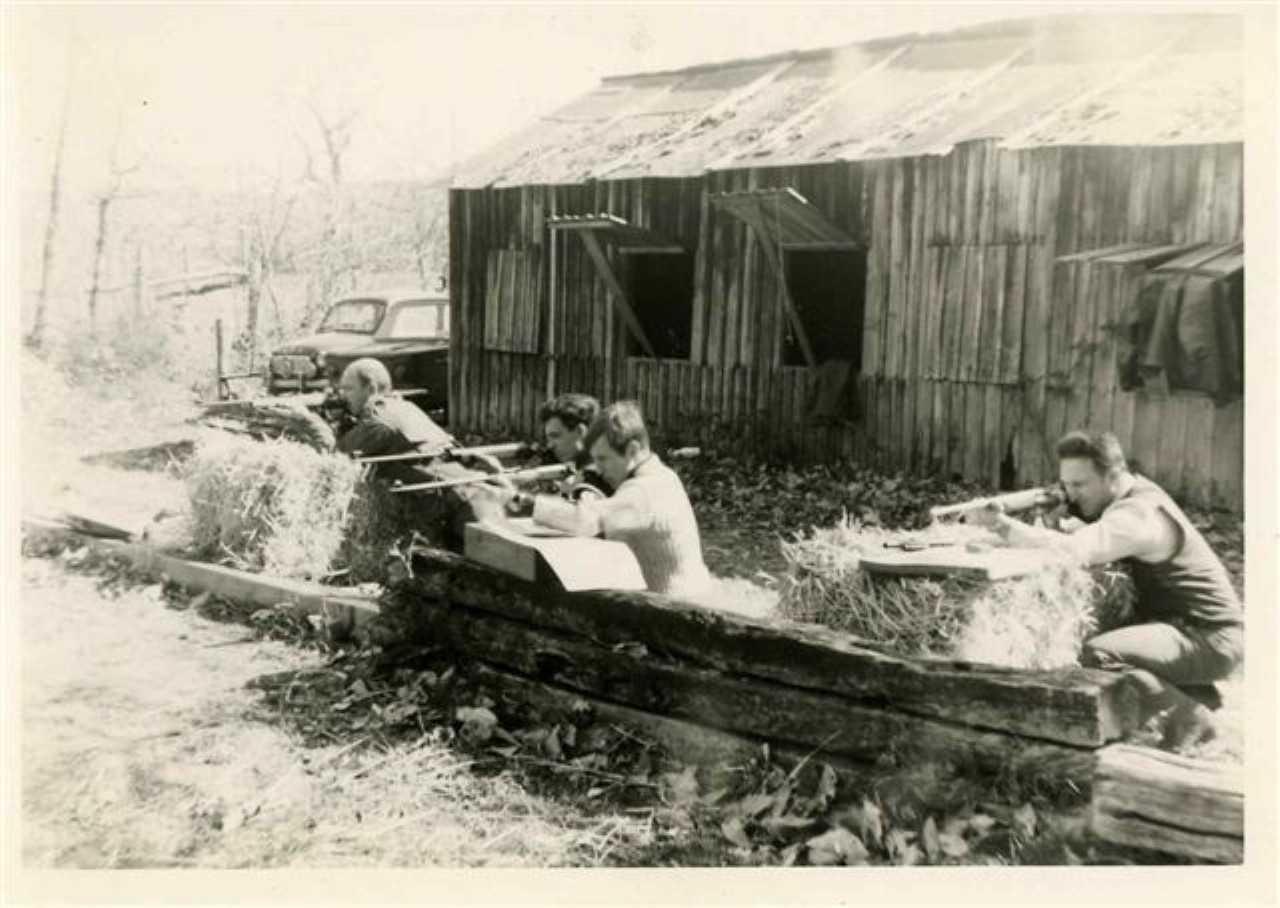 Le tir à la carabine au CTSM en 1966